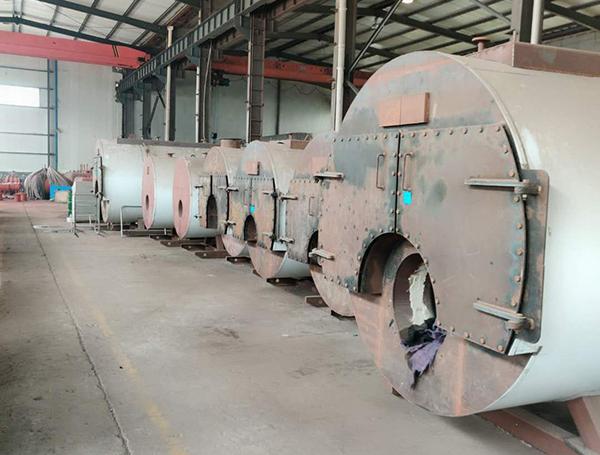 济南立式燃油(气)蒸汽锅炉